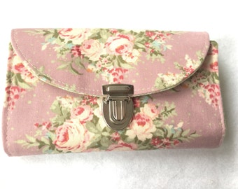 Purse MIDI romantic rose rose