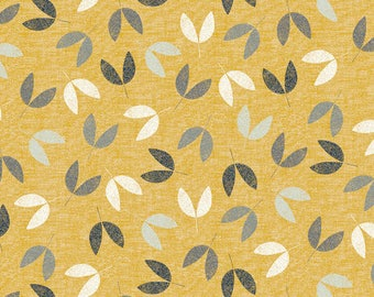 Floral Print Cotton Quilting and Patchwork Fabric - Fat Quarter