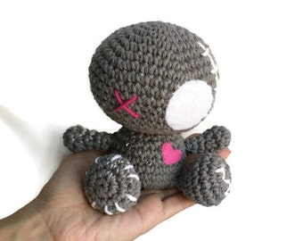 Knitting Pattern Voodoo Doll : Crochet voodoo doll Etsy