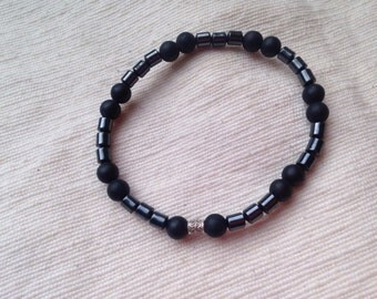 2 Power. Mens Shungite bracelet