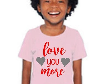 Even More Love Toddler Triblend Tee
