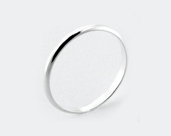 PREORDER !! 50% Off  Classic silver band, midi or thumb ring