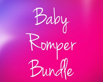 Buy 2+ baby rompers and save!