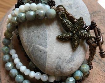 Tide Pool 3-strand Bracelet