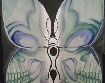 The Butterfly Skull
