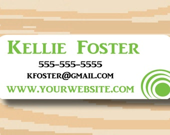 """Independent Consultant Sticker Address Labels, Digital File, 1"""" x 2.625"""", Print From Home"""