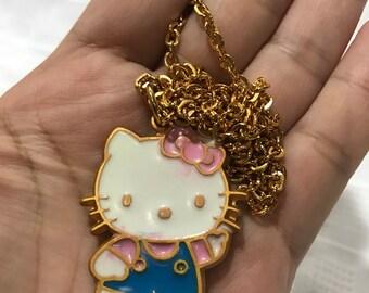 Vintage 1991 Sanrio Hello Kitty Necklace with Pendant