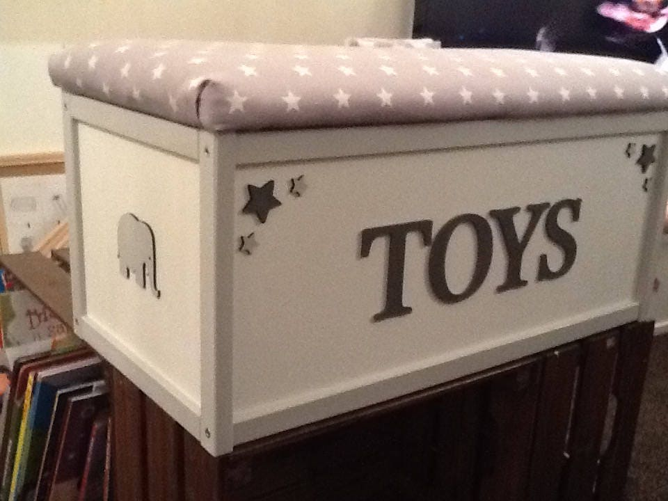 Large New Wooden Storage Box Diy Crates Toy Boxes Set: Toy Storage Box. New Baby. Nursery Furniture. Neutral