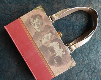Jane Eyre book bag - Charlotte Bronte - Handmade - Upcycled book - Bag made from a book