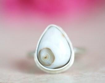 Ocean Jasper Ring, White Ocean Jasper Ring OOAK to be made in Your Size