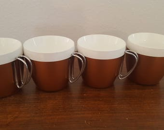 NFC Plastic Mugs - Set of 4