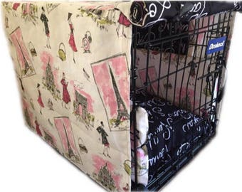 Customized Dog Crate Cover One Door