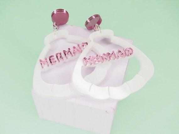Mermaid Shell Earrings