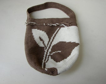 Tapestry Crochet Drawstring Bag Pattern : Mochila pattern Tapestry crochet pattern Mini Mochila bag with