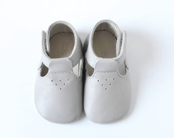 Leather baby sandals, Baby boy sandals, Newborn sandals, Gray baby sandals, Soft sole baby shoes, Baby girl sandals, Baby summer shoes,