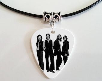 Beatles Guitar Pick Pendant in Gift Box