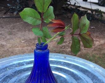 Antique Cobalt Bottle/Vase