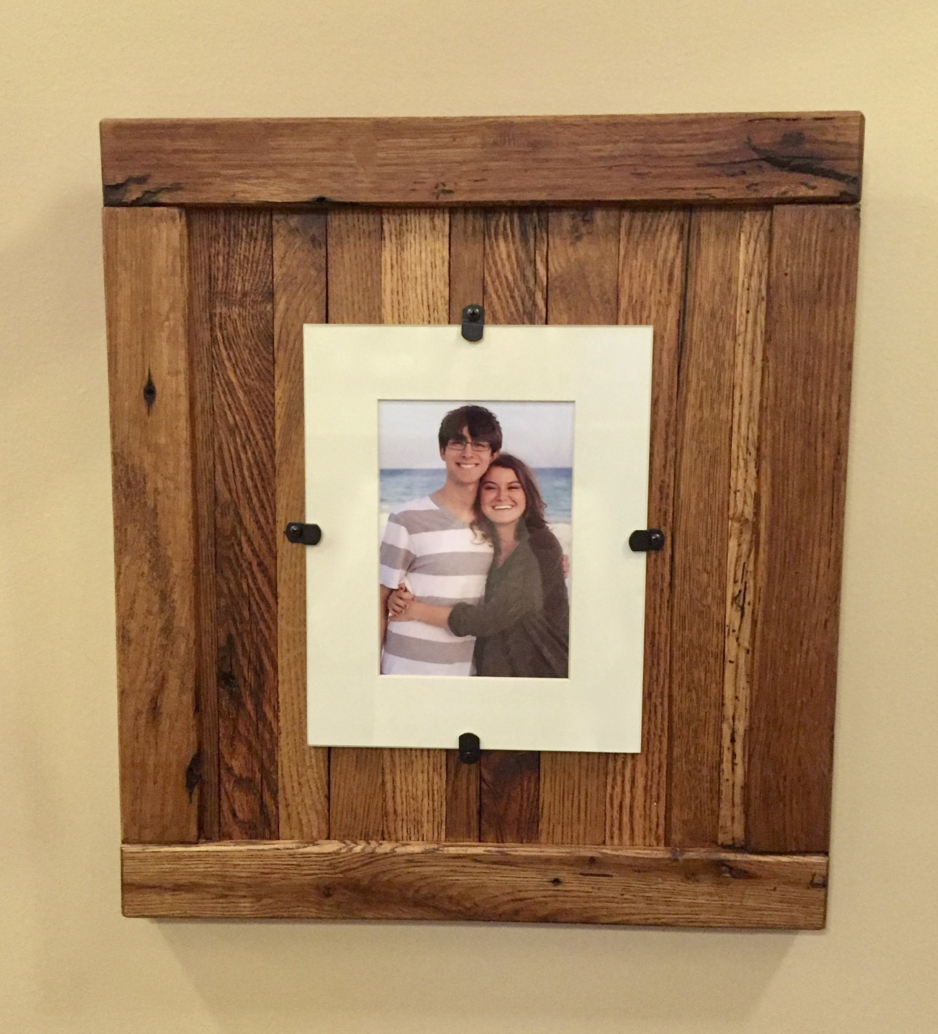 reclaimed wood frames large wood frames set of 3 8 x 10 picture frame with mat 11 x 14 picture frame without mat free shipping - Wood For Picture Frames