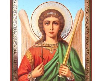Guardian Angel Orthodox russian icon - #43bb