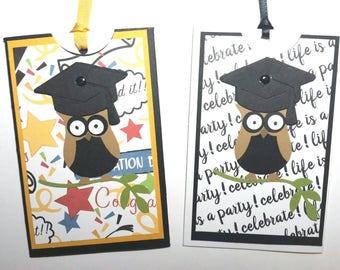 Graduation Gift Card/Money Holder - Owl