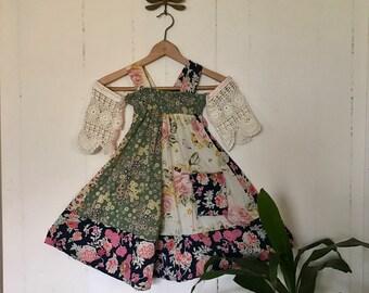 Springtime Patchwork Dress