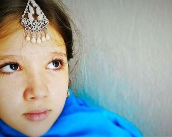 Tikka - forehead jewelry - festival fashion jewelry, boho, kid jewelry