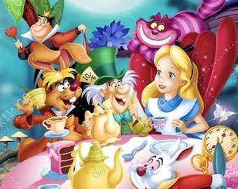 Alice In Wonderland #3 Wall Mural, Wallpaper, Wall Décor, Wall Decal, Part 62
