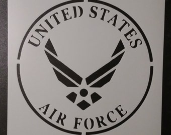 United States Air Force Custom Stencil FAST FREE SHIPPING