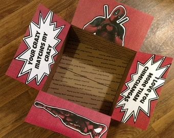 Care Package Decorating Kit- Chimichangas