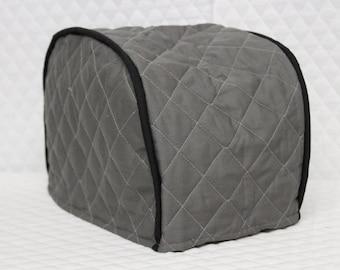 Dark Grey 2 Slice Toaster Cover
