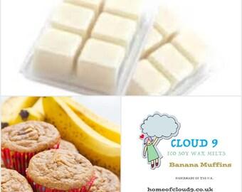 Banana Muffins Soy Wax Melt