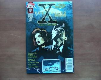X-Files Season One Deep Throat, Prestige graphic novel, VF+, Roy Thomas, Claude St Aubin, Topps Comics
