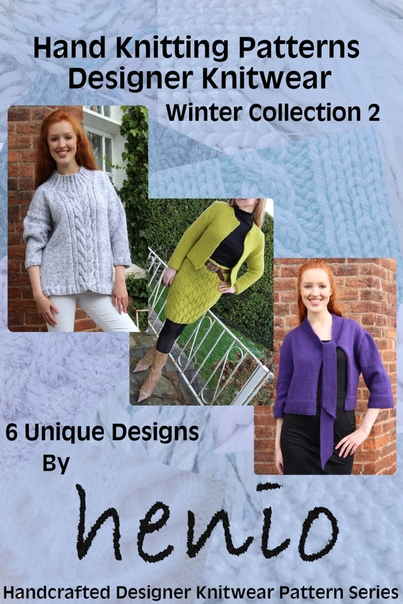 Hand Knitting Patterns: Designer Knitwear Winter Collection