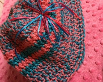 Hand made Messy Bun/Ponytail  Hats Crocheted and accessorized  by hand