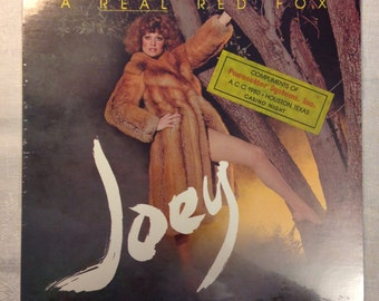 Joey English - A Real Red Fox - Vinyl LP - SEALED - Live at Disneyland Club Singer Scorpion Records