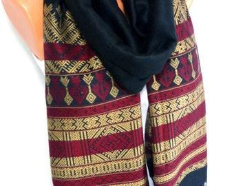 Scarf, Shawl, Wrap, Mens Pashmina Scarf, Pashmina Scarves, Pashminal Shawl, Unisex Scarf, Mens Scarf for Fall and Winter Fashion Accessories