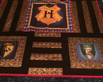 Unique Harry Potter Quilt Related Items Etsy