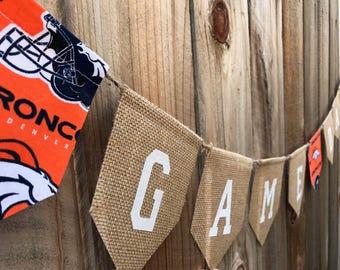 Denver Broncos GameDay Banner, NFL