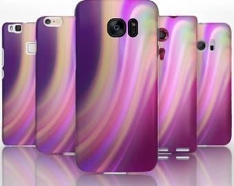 BG0170 Plastic hard case print, personalized/ custom/ personalised phone protective case purple swirls