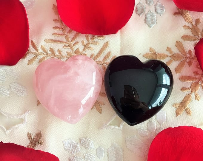 Mother's Day Crystal Hearts infused with Love and Reiki Perfect Gift for Mom