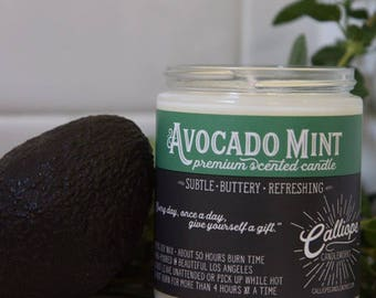 Avocado Mint Candle