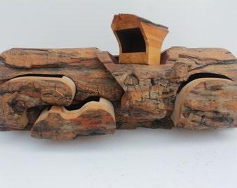 Vintage Tree Branch  Jewelry Limb Box.