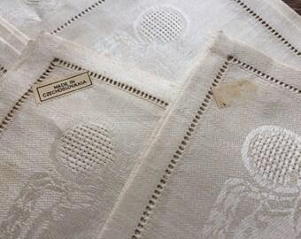 Open Weave Linen Etsy