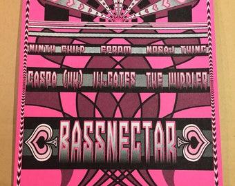Basslantic City Screen Printed Poster 2017
