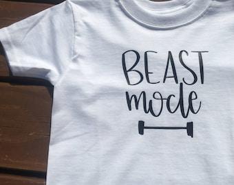 Beast Mode-Boy T-Shirt-Graphic Tee