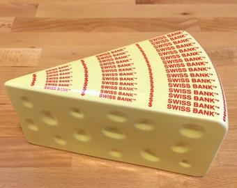 Swiss Cheese Wedge Etsy