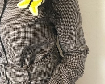 Yellow Butterfly clip/pin