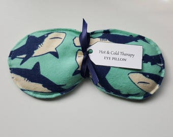 Eye Pillow- Hot & Cold Therapy - Sharks