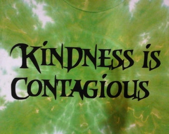 Kindness Contagious Etsy