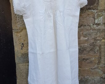 Vintage French Cotton Nightdress